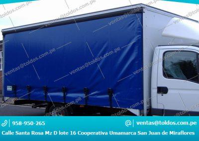 Toldos para Camiones y Vehiculos Pesados 001
