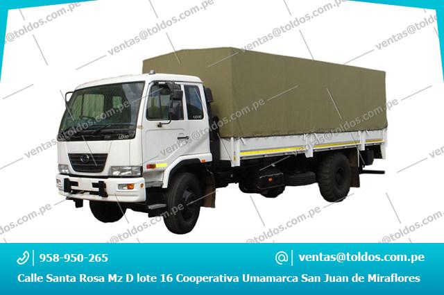 Toldos para camion tolderas para cami n env os urgentes for Toldos para camiones